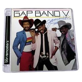 GAP BAND V -.. -EXPANDED- .. JAMMIN' GAP BAND, CD