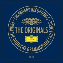 ORIGINALS BOX 2014 -LTD- LEGENDARY DEUTSCHE GRAMMOPHON RECORDINGS V/A, CD