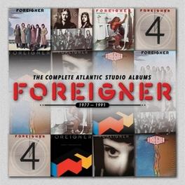 COMPLETE ATLANTIC.. .. STUDIO ALBUMS 1977-1991 FOREIGNER, CD