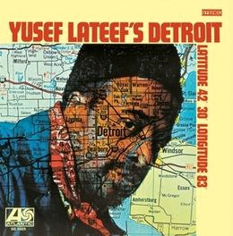 DETROIT: LATITUDE.. .. 42-30'-LONGITUDE - JEWELCASE WITH OBI CARD YUSEF LATEEF, CD