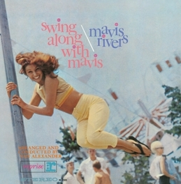 SWING ALONG WITH MAVIS JEWELCASE WITH OBI CARD AND STANDARD SHRINKWRAP MAVIS RIVERS, CD