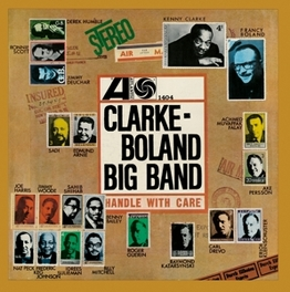 CLARKE BOLAND BIG BAND JEWELCASE WITH OBI CARD AND STANDARD SHRINKWRAP BOLAND, CLARKE -BIG BAND-, CD