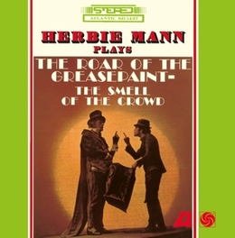 ROAR OF THE GREASEPAINT JEWELCASE WITH OBI CARD AND STANDARD SHRINKWRAP HERBIE MANN, CD