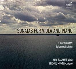 SONATES FOR ALTO AND.. YURI BASHMET/MIKHAIL MUNTIAN SCHUBERT/BRAHMS, CD