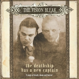 DEATHSHIP HAS A NEW.. .. CAPTAIN/ ANNIVERSARY EDITION/ 2CD HC BOOK, 18X18 CM VISION BLEAK, CD