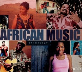 AFRICAN MUSIC ANTHOLOGY AFRICAN GUITARS/AFRICAN VOICES/AFRICAN RHYTHMS V/A, CD