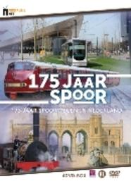 175 Jaar Spoor – 175 Jaar spoorwegen in Nederland (4 dvd)