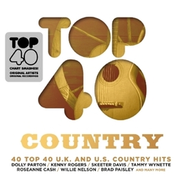 TOP 40 - COUNTRY V/A, CD