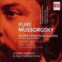 BILDER EINER AUSSTELLUNG ANDREJ HOTEEV/ELENA PANKRATOVA M. MUSSORGSKY, CD