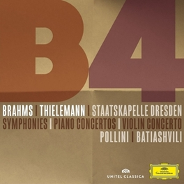 SYMPHONIES &.. -CD+DVD- SD/THIELEMANN/BIATIASHVILI/POLLINI J. BRAHMS, CD
