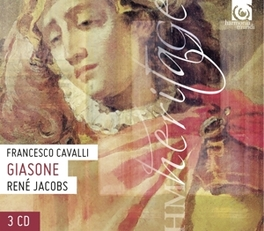 GIASONE -OPERA- W/MICHAEL CHANCE, GLORIA BANDITELLI, CONCERTO VOCALE F. CAVALLI, CD