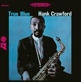 TRUE BLUE JEWELCASE WITH OBI CARD AND STANDARD SHRINKWRAP HANK CRAWFORD, CD