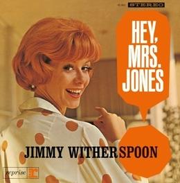 HEY, MRS. JONES JEWELCASE WITH OBI CARD AND STANDARD SHRINKWRAP JIMMY WITHERSPOON, CD