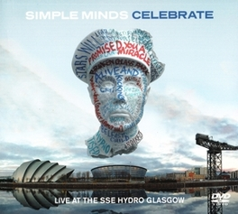 CELEBRATE-LIVE -CD+DVD- LIVE FROM THE SSE HYDRO GLASGOW 2013 SIMPLE MINDS, CD