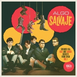 ALGO SALVAJE VOL.1 UNTAMED 60'S BEAT & GARAGE NUGGETS FROM SPAIN V/A, CD