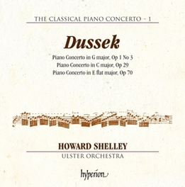 CLASSICAL PIANO.. HOWARD SHELLEY/ULSTER ORCHESTRA Dussek, Jan Ladislav, CD