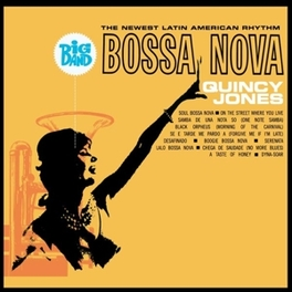 BIG BAND BOSSA NOVA 1962 RELEASE, AUDIOPHILE CLEAR VINYL (ACV) QUINCY JONES, Vinyl LP