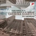 PIANO QUINTET OP.81 CARMINA QUARTET/TEO GHEORGHIU