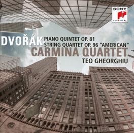 PIANO QUINTET OP.81 CARMINA QUARTET/TEO GHEORGHIU A. DVORAK, CD