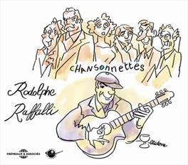 CHANSONNETTES RODOLPHE RAFFALLI, CD