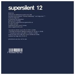 12 SUPERSILENT, CD