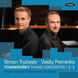 PIANO CONCERTOS 1 & 2 TRPCESKI/LIVERPOOL P.O. P.I. TCHAIKOVSKY, CD
