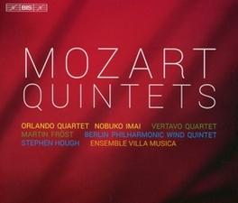 QUINTETS ORLANDO QUARTET/VERTAVO STRING QUARTET... W.A. MOZART, CD