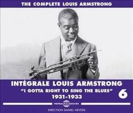 INTEGRALE VOL.6 LOUIS ARMSTRONG, CD