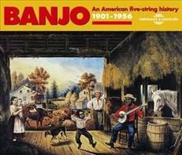 BANJO: 1901-1956: AN.. .. AMERICA FIVE-STRING HERITAGE V/A, CD