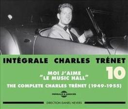 INTEGRALE VOL.10 CHARLES TRENET, CD