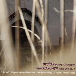 PIANO TRIO NO.1 WORKS BY DVORAK/SHOSTAKOVICH... CHRISTIAN TETZLAFF, CD