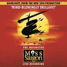 MISS SAIGON 2014 LONDON CAST // 25TH ANNIVERSARY EDITION MUSICAL CAST RECORDING, CD