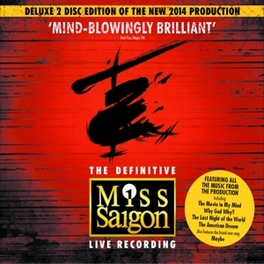 MISS SAIGON -DELUXE- 2014 LONDON CAST // 25TH ANNIVERSARY EDITION Artists, Various, CD
