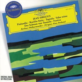 FINLANDIA/VALSE TRISTE -BERLINER PHILHARMONIC/HANS ROSBAUD J. SIBELIUS, CD