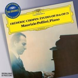 ORIGINALS:24 ETUDES OP.10 MAURIZIO POLLINI F. CHOPIN, CD
