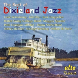 BEST OF DIXIELAND JAZZ FOUNTAIN/TEAGARDEN/BECHET/HIRT/ARMSTRONG DUTCH SWING COLLEGE BAND, CD