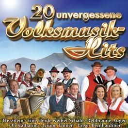 20 UNVERGESSENE VOLKSMUSI VOLKSMUSIKHITS V/A, CD
