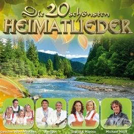 DIE 20 SCHOENSTEN HEIMATL LIEDER V/A, CD