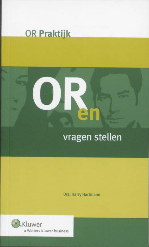 OR en vragen stellen OR-praktijk, Hartmann, Harry, Paperback