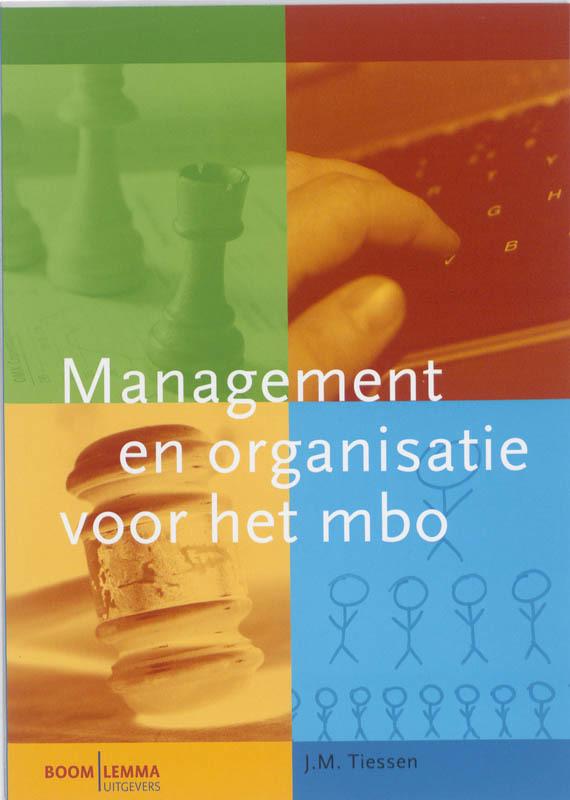Management en organisatie voor het mbo H. Tiessen, Paperback