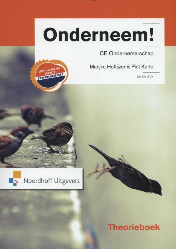Onderneem!: CE Ondernemerschap: Theorieboek Hoftijzer, Marijke, Paperback
