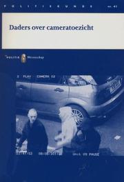 Daders over cameratoezicht Politiekunde, A. van Schijndel, Paperback