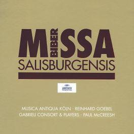 MISSA SALISBURGENSIS MUSICA ANTIQUA KOLN/REINHARD GOEBEL/GABRIELI CONSORT Audio CD, H.I.F. VON BIBER, CD