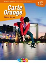 Carte Orange: 1 vmbo gt/havo: Textes en Activités Knop, Marjo, Paperback