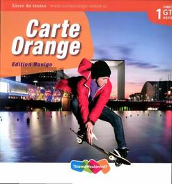 Carte Orange: 1 VMBO GT/Havo: Tekstboek Knop, Marjo, Hardcover
