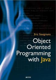 Object oriented programming with Java STEEGMANS, ERIC, Paperback