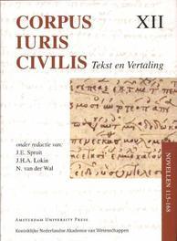 Corpus Iuris Civilis  Novellen 115-168 Corpus Iuris Civilis, Hardcover