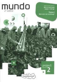 Mundo 1 vmbo-kgt: 1 vmbo-kgt Wat eten we vandaag?: Projectschrift 2 Liesbeth Coffeng, Paperback
