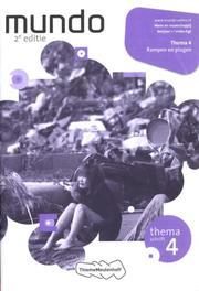 Mundo: 1 vmbo-kgt rampen en plagen: Themaschrift 4 Coffeng, Liesbeth, Paperback