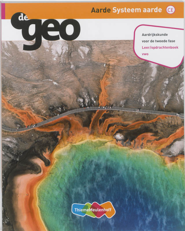 Systeem aarde 2e fase Vwo leeropdrachtenboek De Geo, Paperback